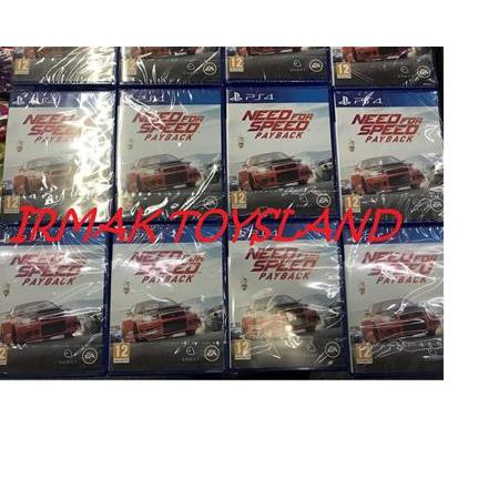NEED FOR SPEED PAYBACK PS4 OYUN