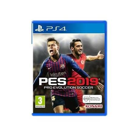 PES 2019 PS4 PRO EVOLUTION SOCCER 2019