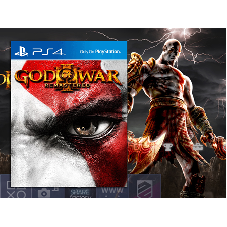 GOD OF WAR 3 REMASTERED PS4 TÜRKÇE