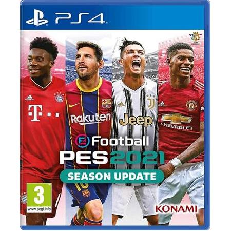 PES 2021 SEASON UPDATE BLURAY KUTULU OYUN