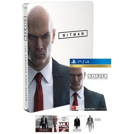 HITMAN THE COMPLETE FIRST SEASON  PS4 OYUNU